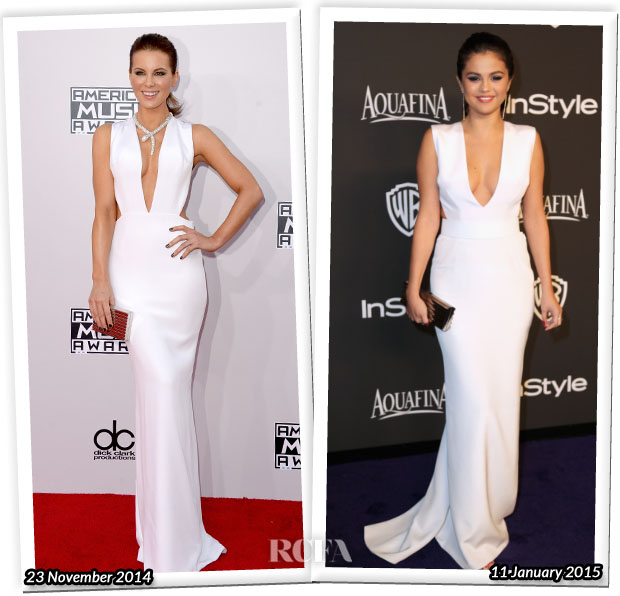 Who Wore KaufmanFranco Better...Kate Beckinsale or Selena Gomez?