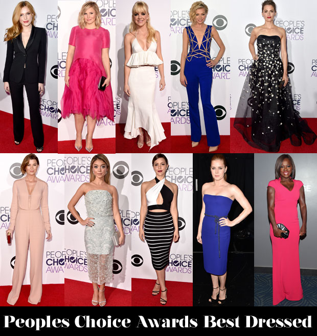 Who Was Your Best Dressed At The 2015 People's Choice Awards