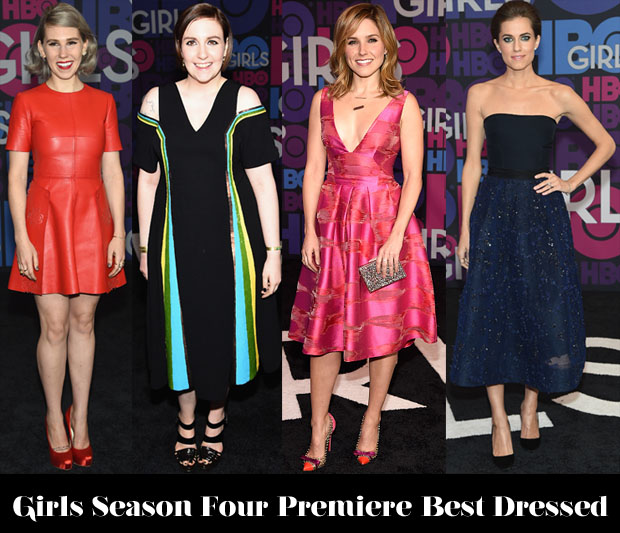Who Was Your Best Dressed At The 'Girls' Season Four Premiere