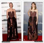 Who Wore Alberta Ferretti Better Jess Weixler or Stana Katic