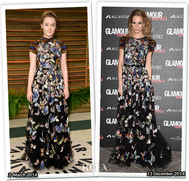 Who Wore Valentino Better Saoirse Ronan or Poppy Delevingne