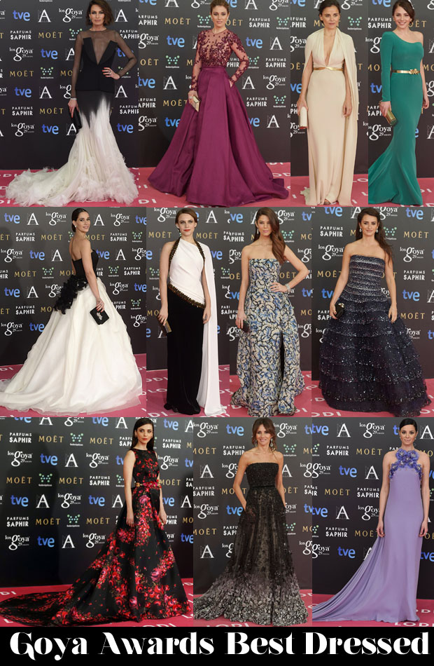 2015 Goya Awards Best Dressed