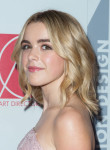 Kiernan Shipka in Lela Rose