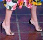 Jenny Slate's Christian Louboutin sandals