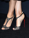 Mila Kunis' Christian Louboutin shoes