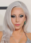 Get The Look: Lady Gaga's Grammy Awards Metallic Beauty Look