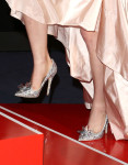 Lily James' Jimmy Choo 'Cinderella' shoes