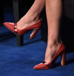Keira Knightley's Manolo Blahnik for Alexander Lewis pumps