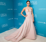 Emmy Rossum In Donna Karan Atelier - 17th Costume Designers Guild Awards