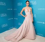 Emmy Rossum In Donna Karan Atelier - 17th Costume Designers Guild Awards
