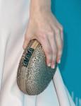 Emmy Rossum's Christian Louboutin clutch
