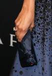 Camilla Belle's Christian Louboutin clutch