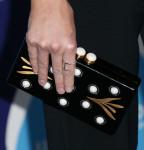 Beth Behrs' Thalé Blanc clutch