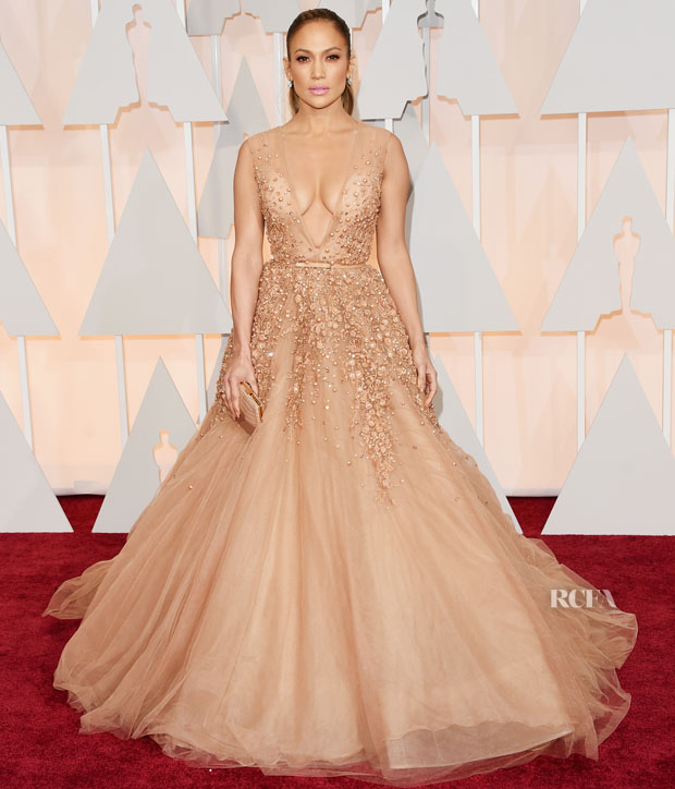 Jennifer Lopez In Elie Saab Couture - 2015 Oscars - Red Carpet ...