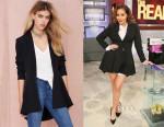 Adrienne Bailon's Nasty Gal Zophia Full Skirted Blazer