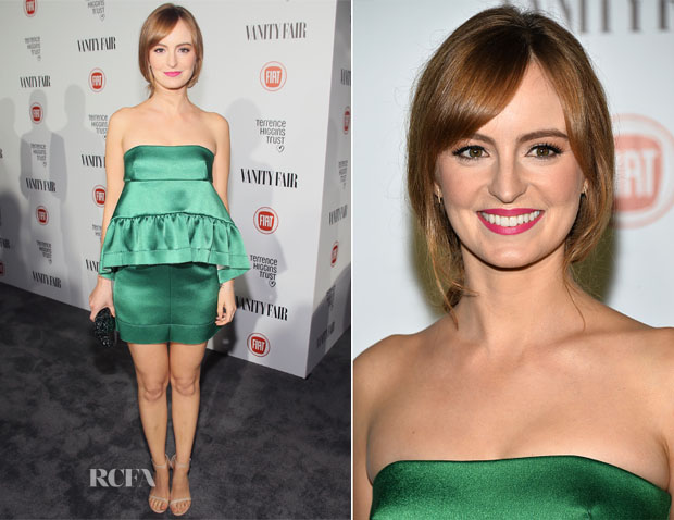Ahna O'Reilly In Marni - Vanity Fair Celebrates Young Hollywood