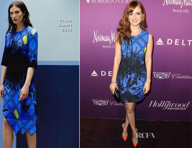 Ahna O'Reilly In Preen - The Hollywood Reporter's 3rd Annual Academy Awards Nominees Night Party