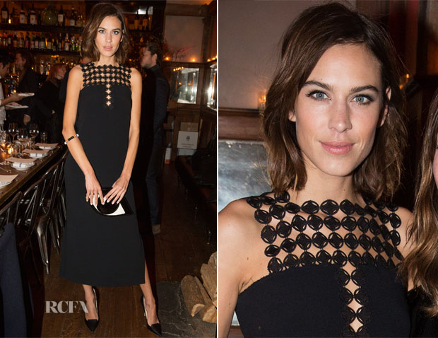 Alexa Chung In Edun - Mytheresa and Style copy
