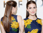 Get The Look: Allison Williams' Michael Kors Braided Hairstyle