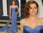 Amy Adams In Atelier Versace - 2015 Vanity Fair Oscar Party