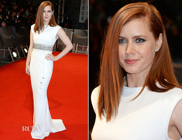 Amy Adams In Lanvin - 2015 BAFTAs
