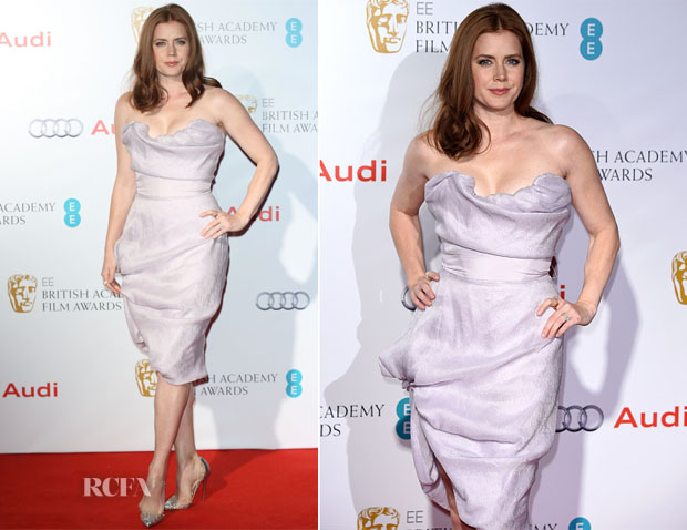 Amy Adams In Vivienne Westwood Couture - EE British Academy Awards Nominees Party
