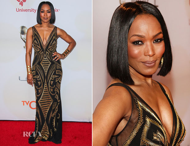 Angela Bassett In Xcite Xtreme 2015 Naacp Image Awards Red Carpet Fashion Awards