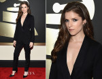 Anna Kendrick In Band of Outsiders - 2015 Grammy Awards