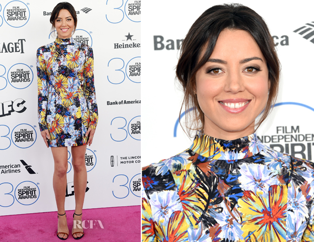 Aubrey Plaza In Suno - 2015 Film Independent Spirit Awards