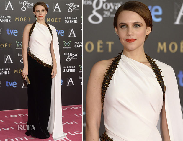 Aura Garrido In Jean Paul Gaultier Couture - 2015 Goya Awards