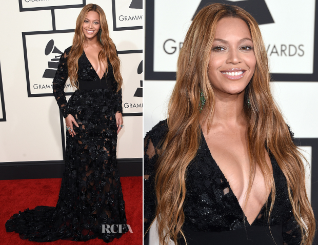 Beyonce In Proenza Schouler - 2015 Grammy Awards