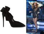 Beyonce Knowles Giuseppe Zanotti Bow Detail Pumps