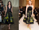 Blake Lively In Marchesa - Marchesa Fall 2015 Front Row