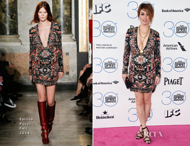 Blanca Suarez In Emilio Pucci - 2015 Film Independent Spirit Awards