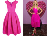 Candice Swanepoel's Antonio Berardi Silk-Organza Dress