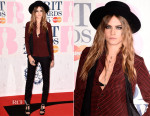 Cara Delevingne In Saint Laurent - 2015 Brit Awards