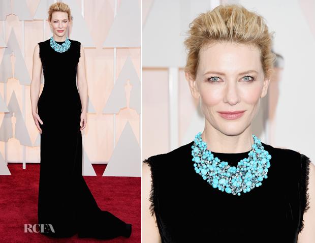 Cate Blanchett In Martin Margiela - 2015 Oscars_