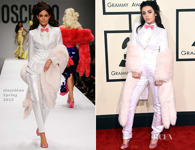 Charli XCX In Moschino - 2015 Grammy Awards