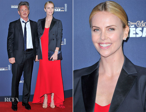 Charlize Theron In Christian Dior - 2015 César Film Awards