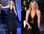 Charlize Theron In Jenny Packham - Sanremo 2015