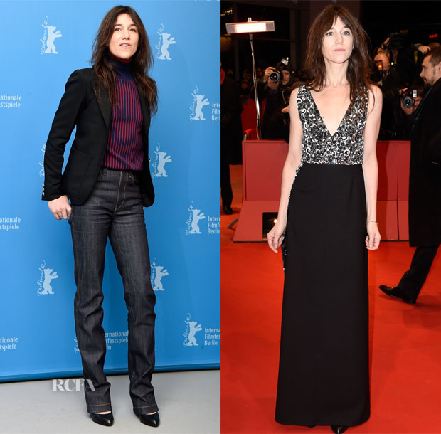 Charlotte Gainsbourg In Louis Vuitton - 'Every Thing Will Be Fine' Berlin Film Festival Photocall & Premiere