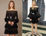 Chloe Grace Moretz In Alexander McQueen - 2015 Vanity Fair Party