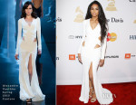 Ciara In Alexandre Vauthier Couture - Pre-GRAMMY Gala And Salute Honouring Martin Bandier