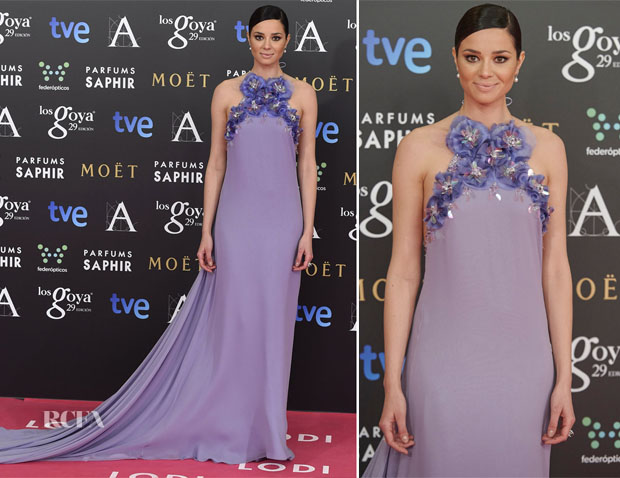 Dafne Fernandez In The 2nd Skin Co- 2015 Goya Awards