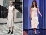 Dakota Johnson In Balenciaga - The Tonight Show Starring Jimmy Fallon