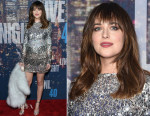 Dakota Johnson In Sonia Rykiel - SNL 40th Anniversary Celebration