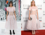 Diane Kruger In Chanel Couture - 2015 Elle Style Awards