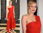 Diane Kruger In Donna Karan Atelier - 2015 Vanity Fair Oscar Party
