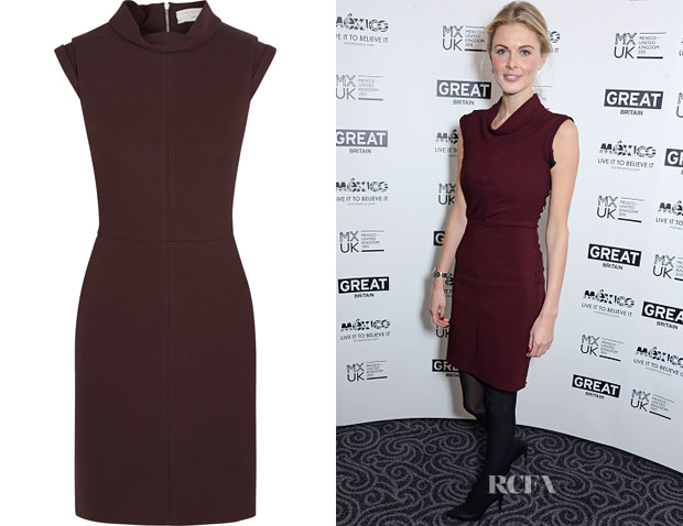 Donna Air 's Victoria Beckham Crepe Pencil Dress