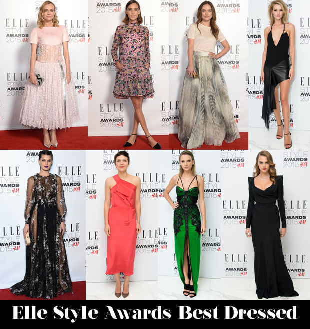 Elle Style Awards Best Dressed